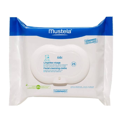 Mustela - Mustela Cleansing Wipes 25 Adet