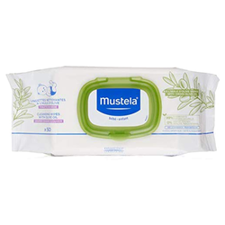 Mustela - Mustela Cleansing Wipes With Olive Oil 50 Adet