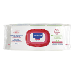 Mustela - Mustela Soothing Cleansing Wipes 70 Adet