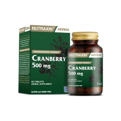 Nutraxin - Nutraxin Cranberry 500 mg 60 Tablet