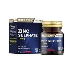 Nutraxin - Nutraxin Zinc Sulphate 100 Tablet