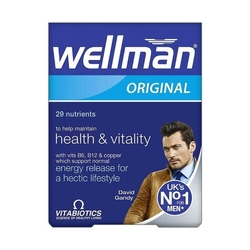 Vitabiotics - Vitabiotics Wellman Original 30 Tablet