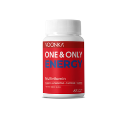 Voonka - Voonka One & Only Energy Multivitamin 62 Yumuşak Kapsül