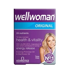 Vitabiotics - Wellwoman Multivitamin 60 Tablet
